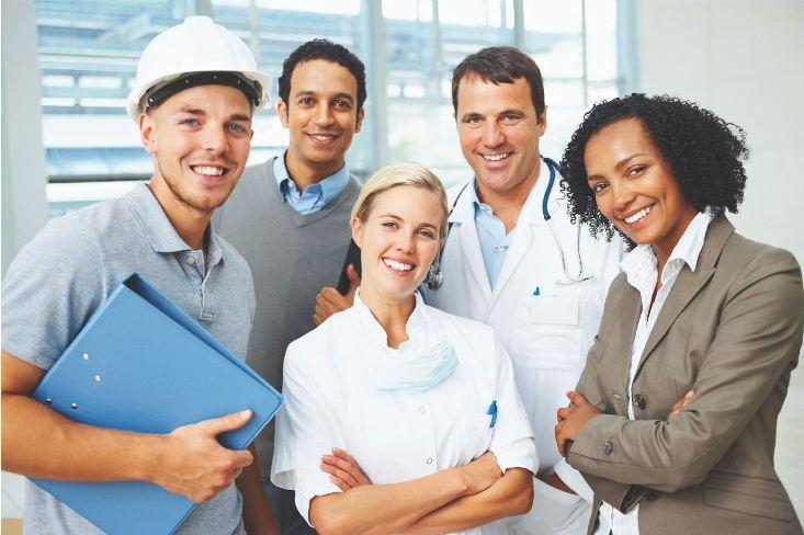 Equipe de enfermagem do trabalho