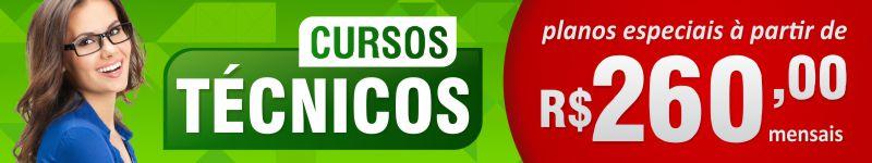 Banner dos Cursos Técnicos por R$150,00
