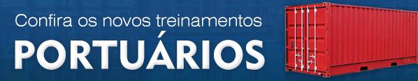 Banner Treinamentos Portuários